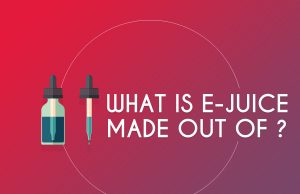What is e-juice made out of